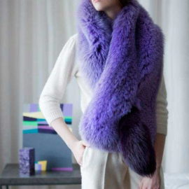 """Violet powder"" Scarf"