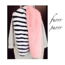 """""""Pink tiger"""" Scarf"""