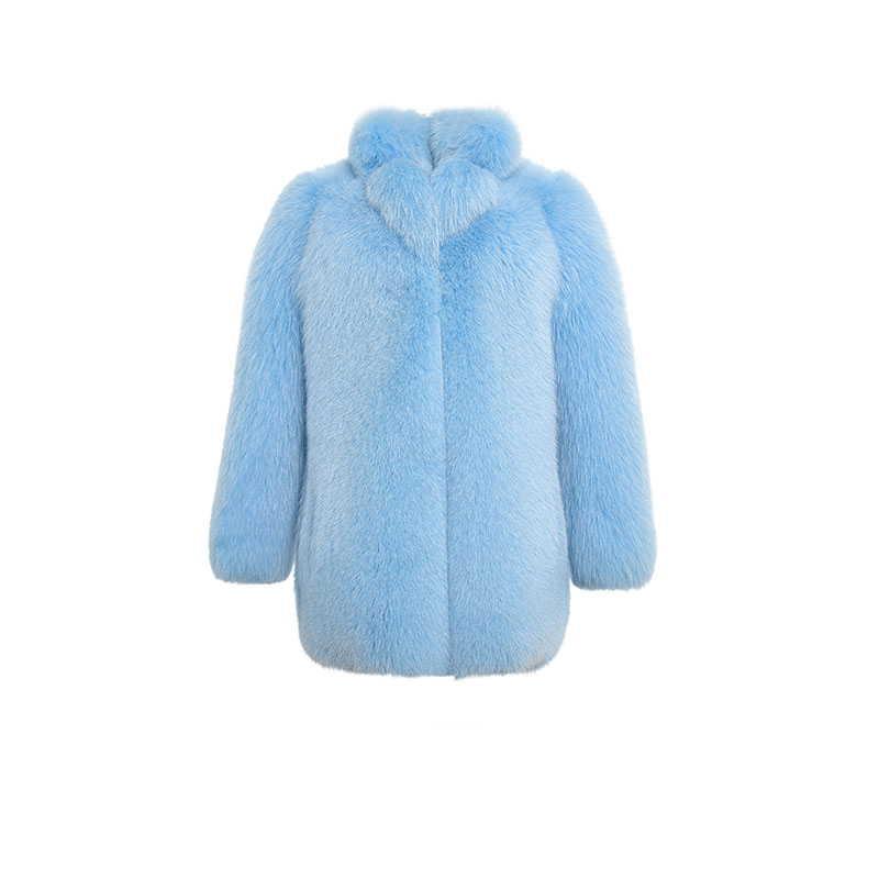 """""""Blue fox"""" Fur coat"""