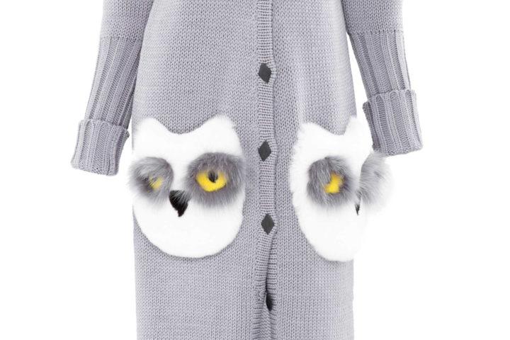 """""""Owls"""" Cardigan"""