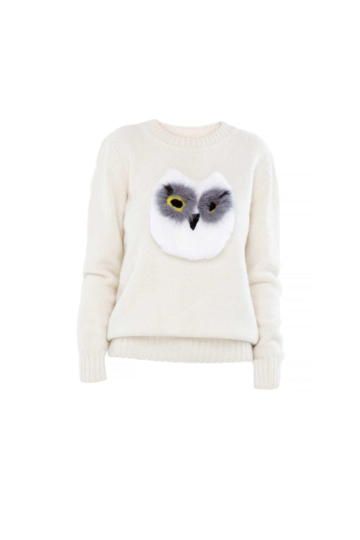 """Owl"" Sweater"