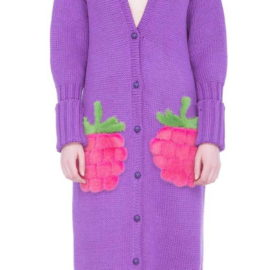 """Juicy raspberry"" Cardigan"