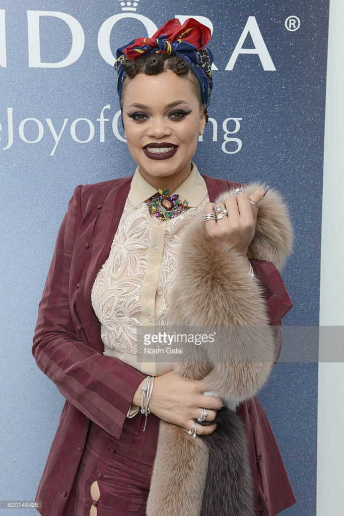 attends PANDORA Jewelry VIP Holiday Event on November 1, 2016 in New York City.