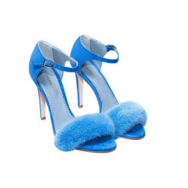 """BLUE MINK SANDALS"" SHOES"