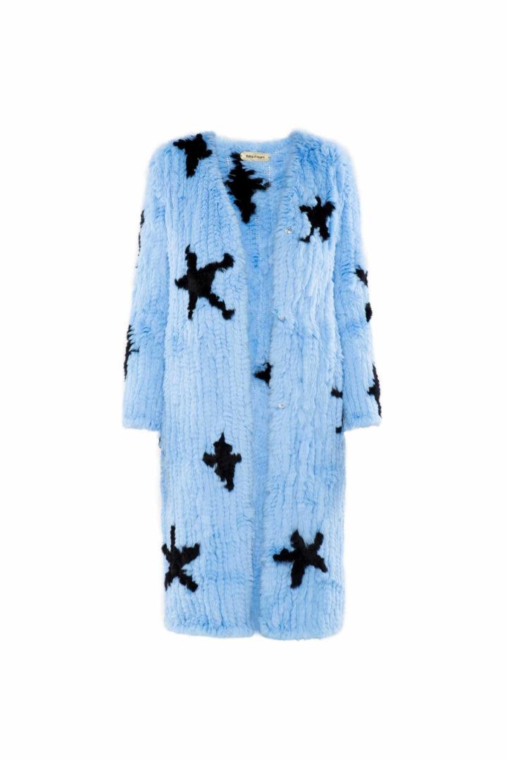 """Sky full of stars"" Fur coat"