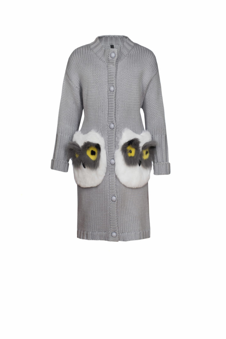 """OWL CARDIGAN"" KIDS"