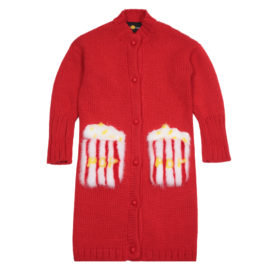 Red Kids Cardigan