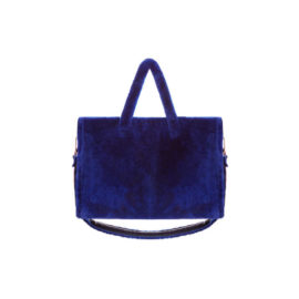 """BLUE MOUTON FUR"" TOTE BAG"