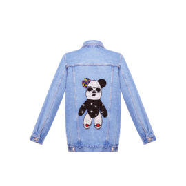 Denim jacket with