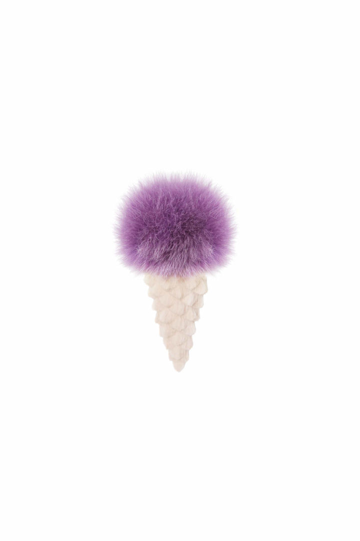 Purple ice cream trinket