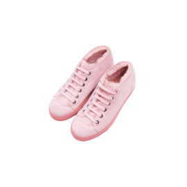Blood and Honey Light pink mouton sneakers