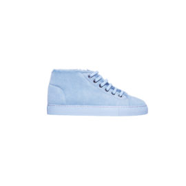 Blue mouton sneakers