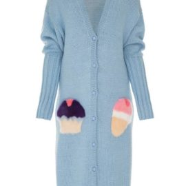 Pocket full of sweets blue cardigan