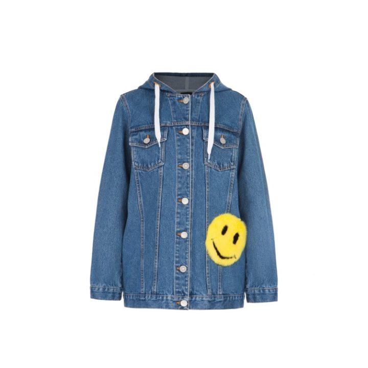 "Denim jacket "" Smile"""