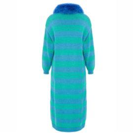 Stripped blue cardigan