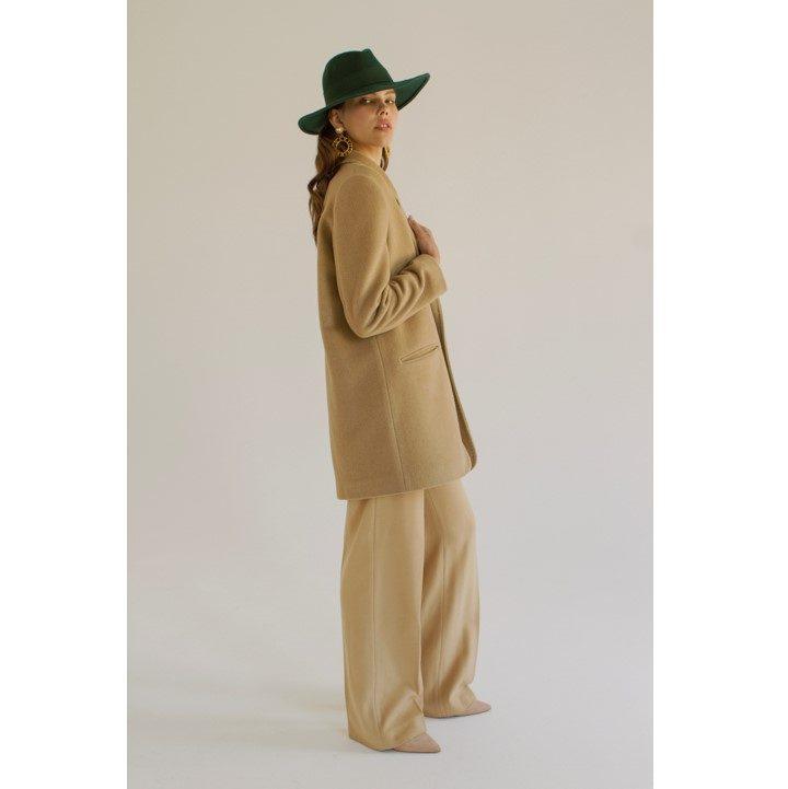 Cashmere camel jacket