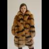 Single breasted lynx fur coat