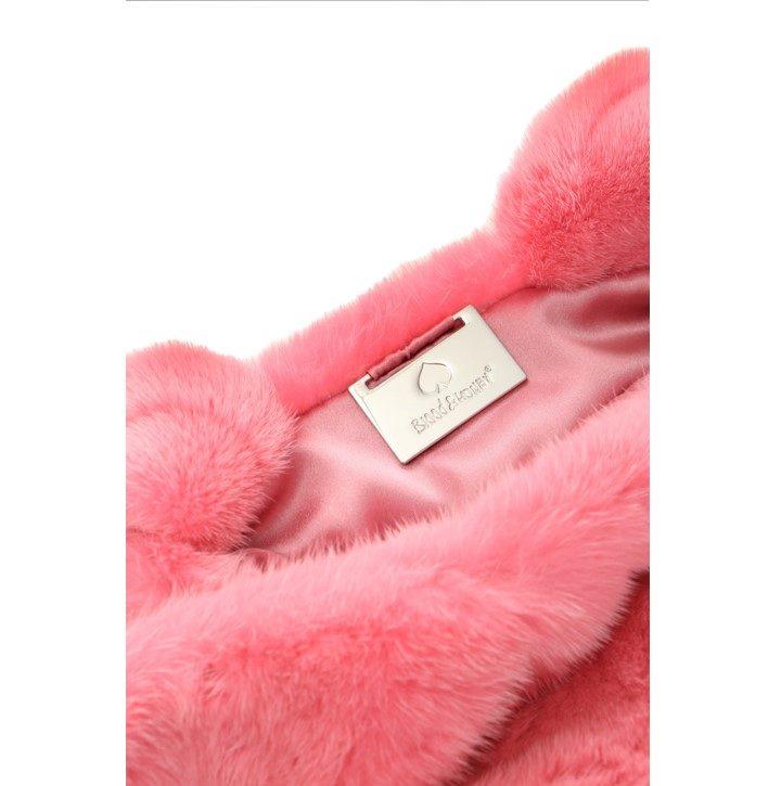 Mink fur bag
