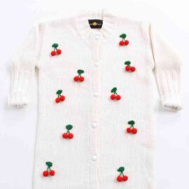 Cherries cardigan